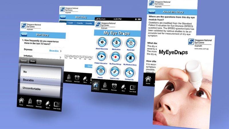 SNEC My Eye Drops App