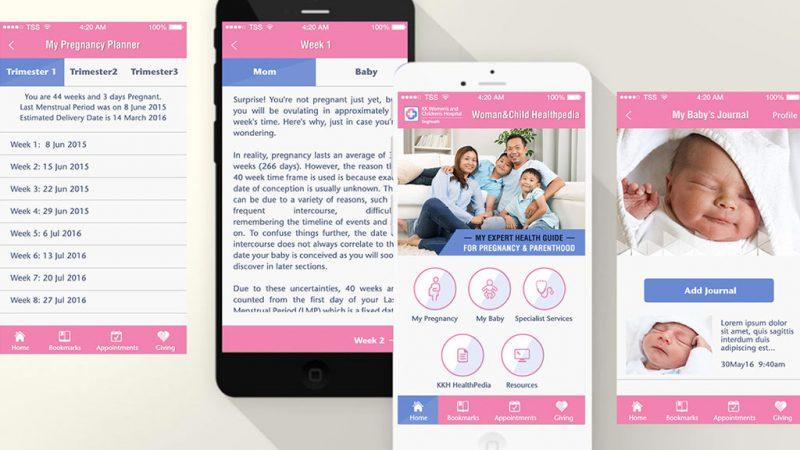 KKH iHealth Pedia App