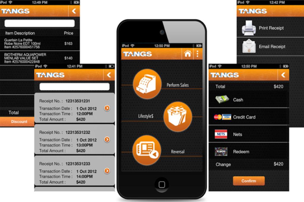Tangs Sales App