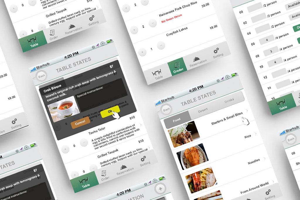Island Cafe Waiter Order App