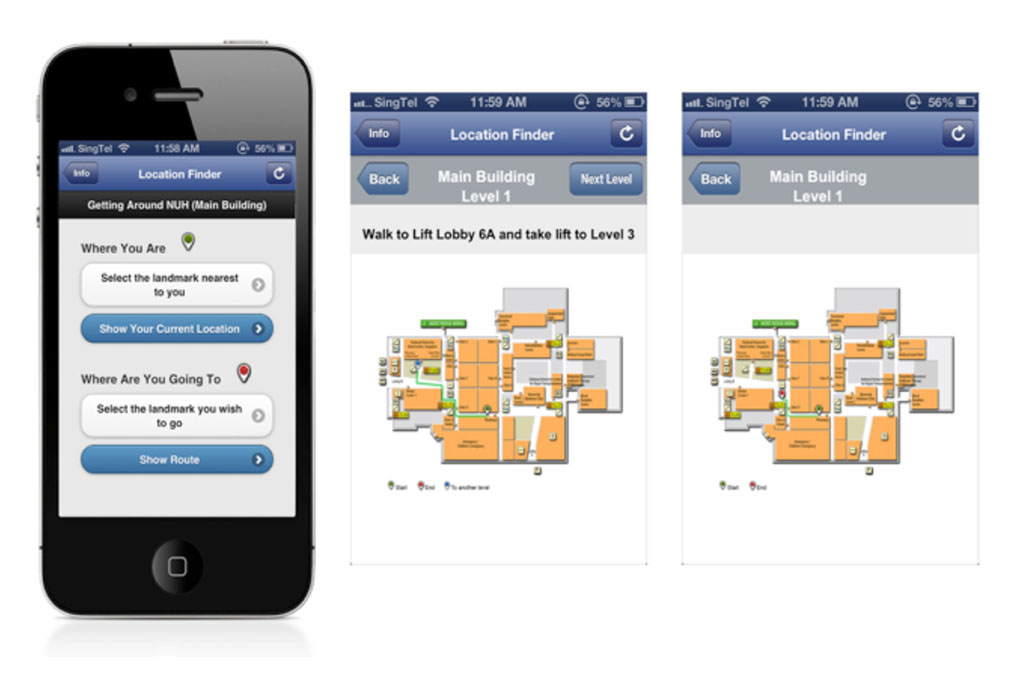 NUH Location App