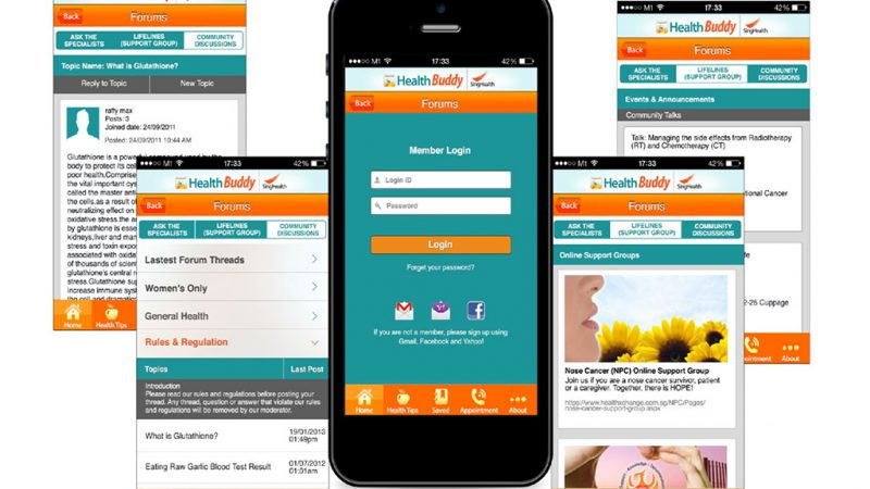 SingHealth HealthBuddy App