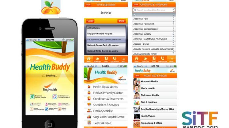SingHealth Health Buddy App