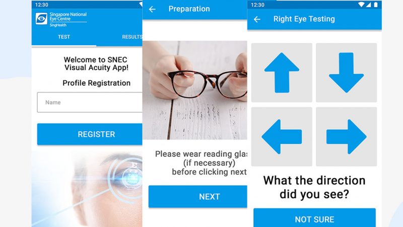 SNEC Visual Acuity App